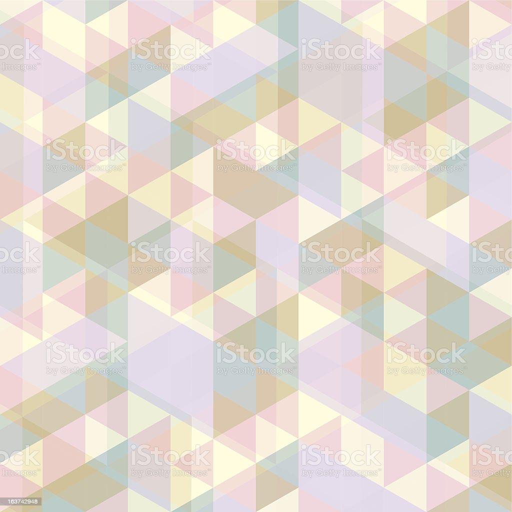 multi color patrón de triángulo illustracion libre de derechos libre de derechos