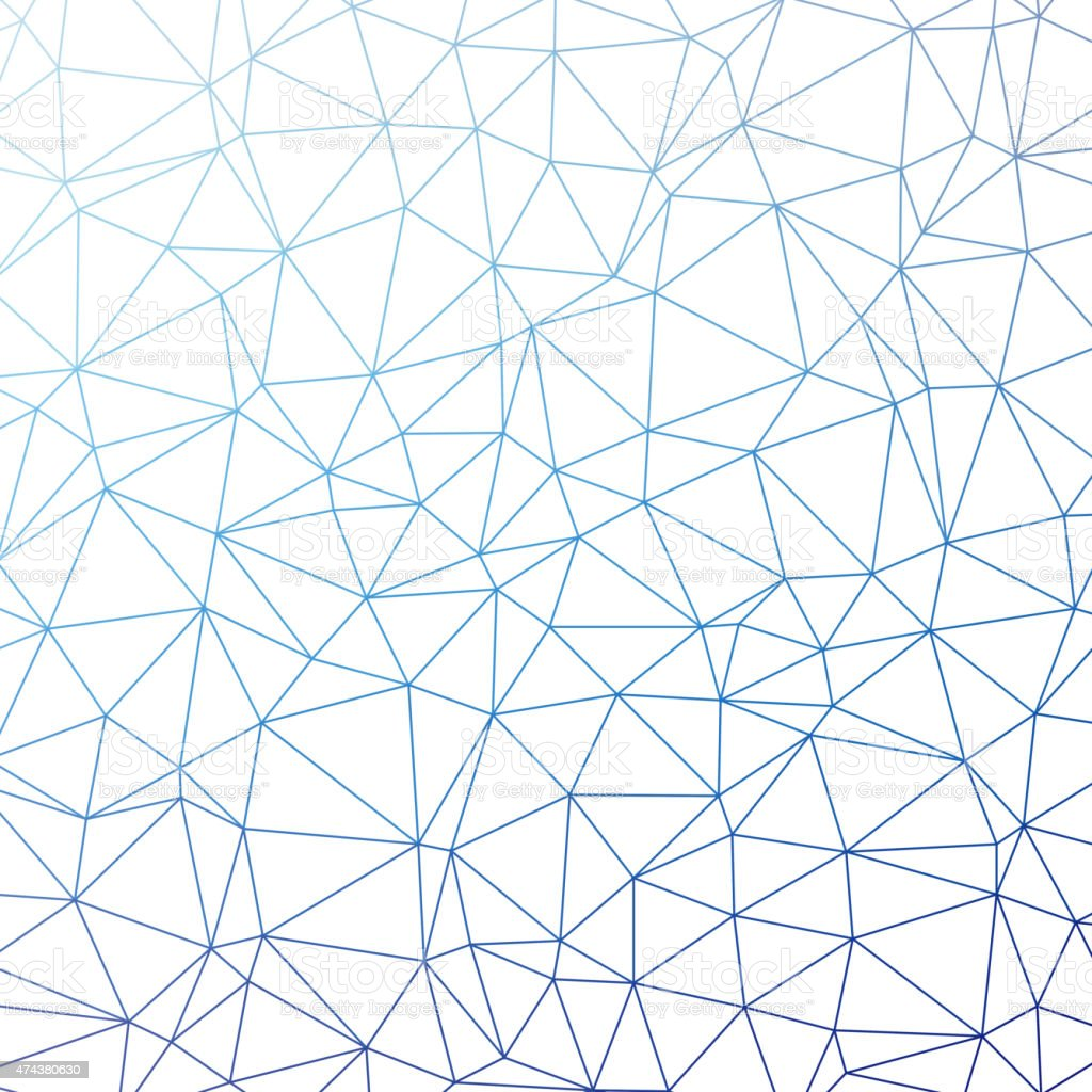 Triangle pattern background vector art illustration
