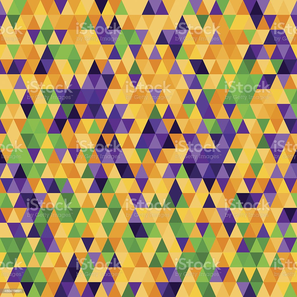 Triangle seamless pattern royalty-free stock vector art