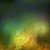 triangle yellow grunge 01