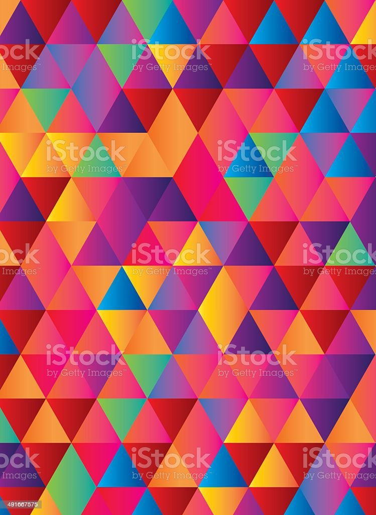Triangles abstract background royalty-free stock vector art