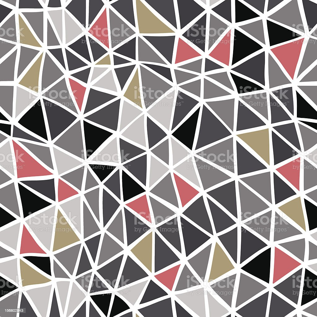 Triangles pattern royalty-free stock vector art
