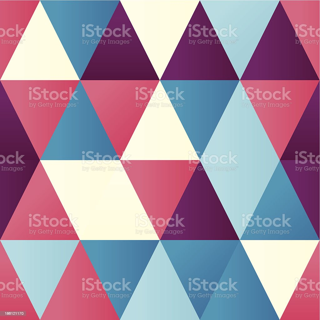 Triangles royalty-free stock vector art