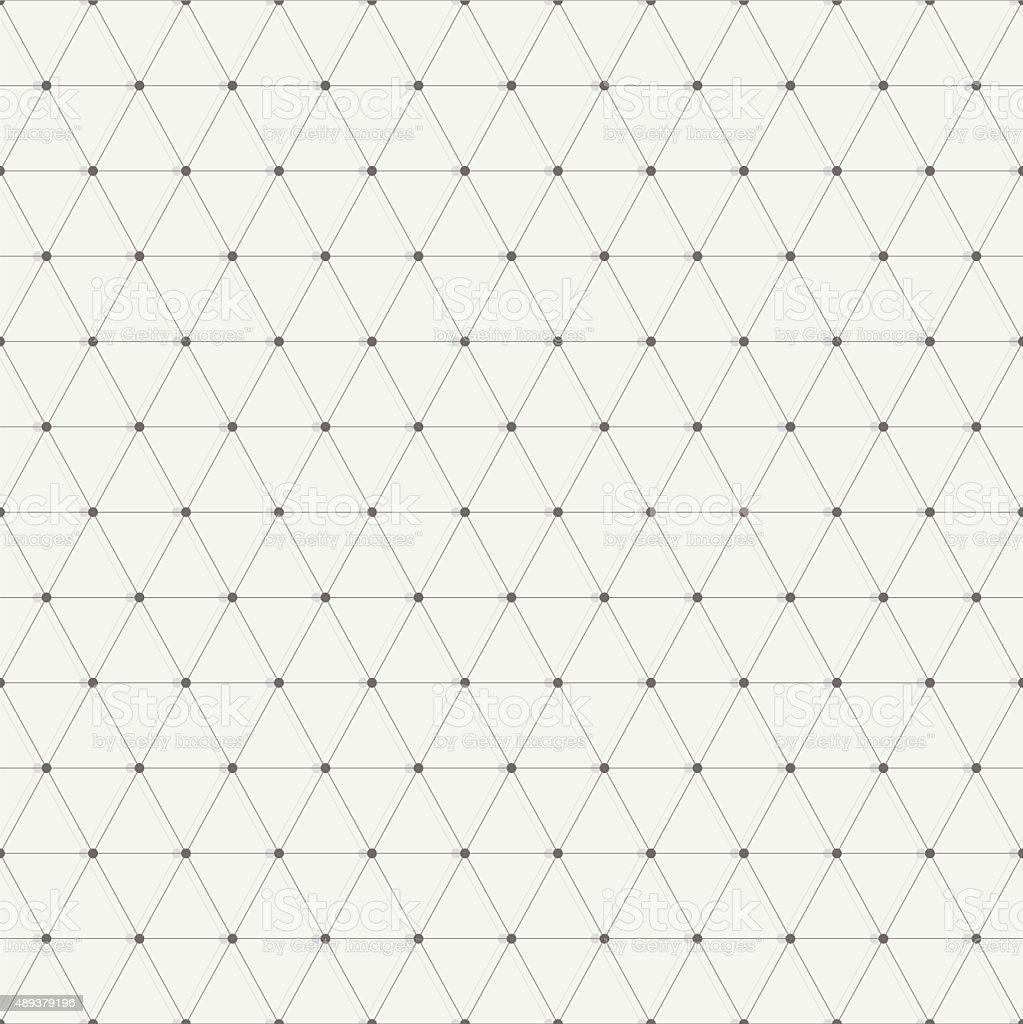 Triangles vector art illustration