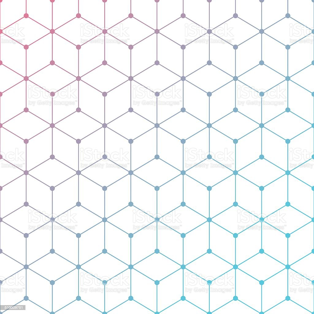 Triangles vector art illustration