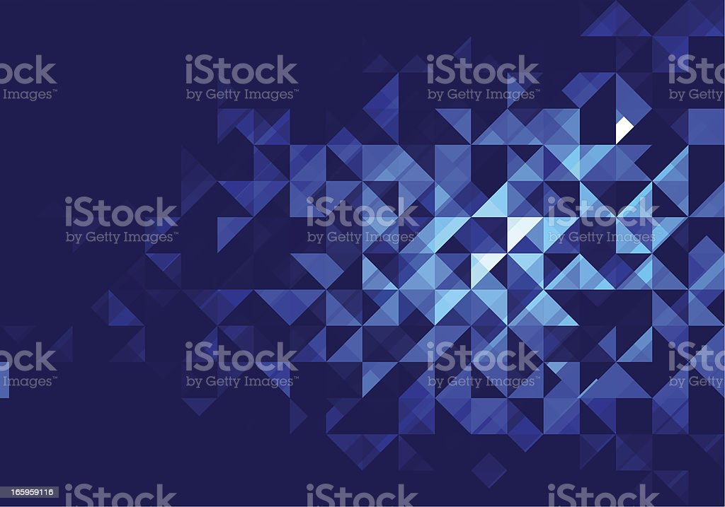 Triangulation royalty-free stock vector art