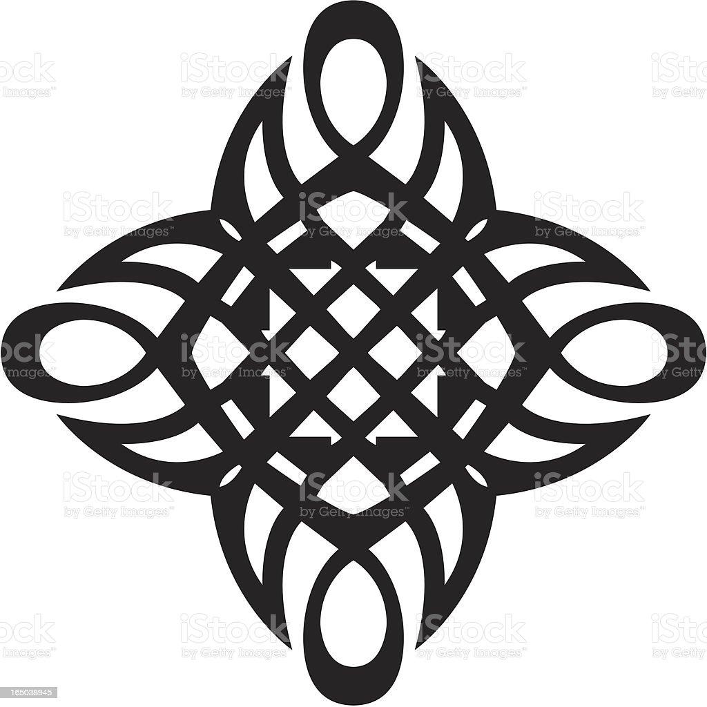 Tribal Art royalty-free stock vector art