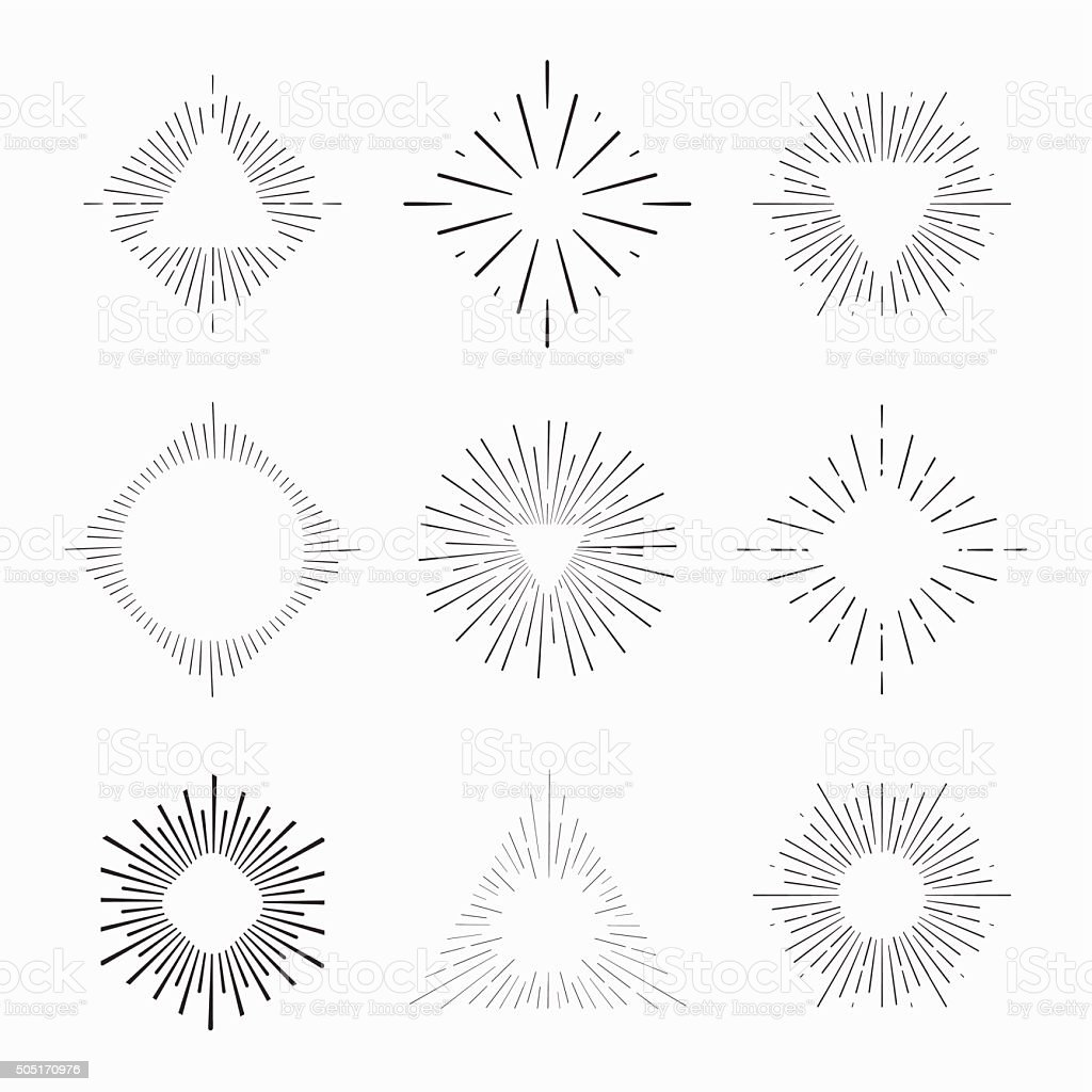 Tribal boho style frames with place for your text vector art illustration