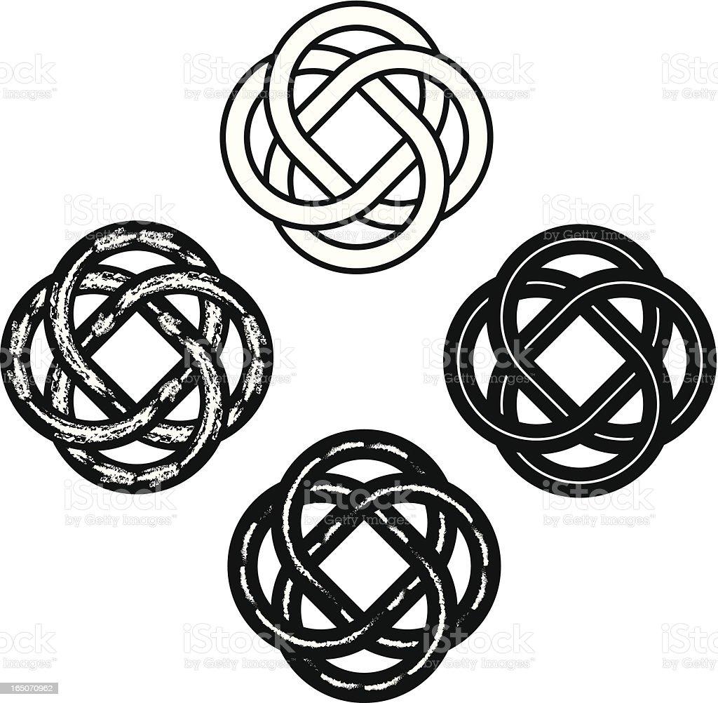 Tribal Celtic Knots royalty-free stock vector art