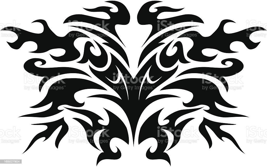 tribal hell royalty-free stock vector art
