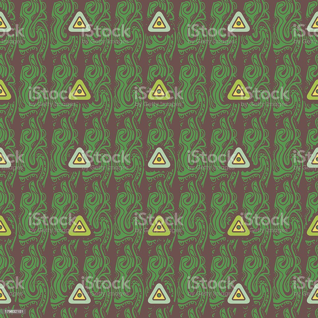 Tribal pattern royalty-free stock vector art