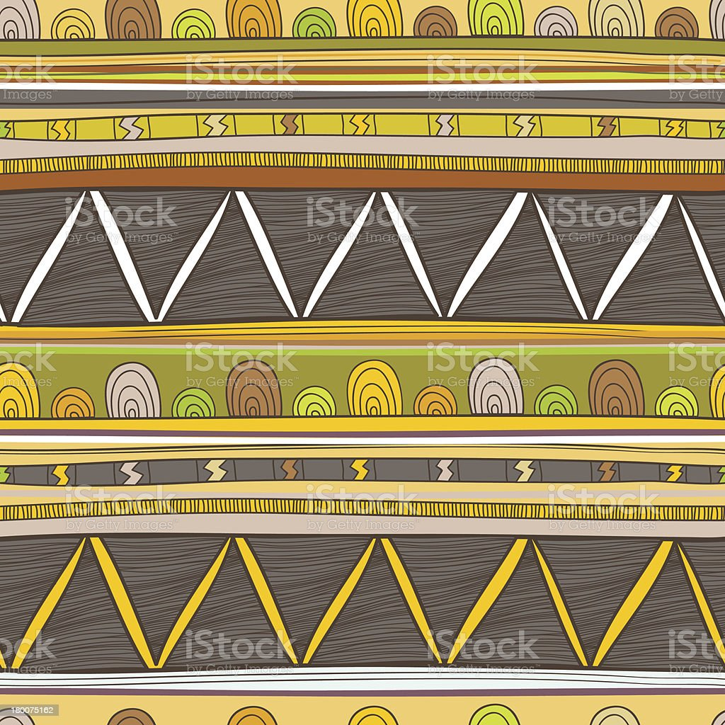 Tribal pattern royalty-free stock vector art