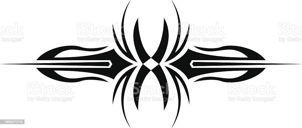 Tribal Vector Art 2 royalty-free stock vector art