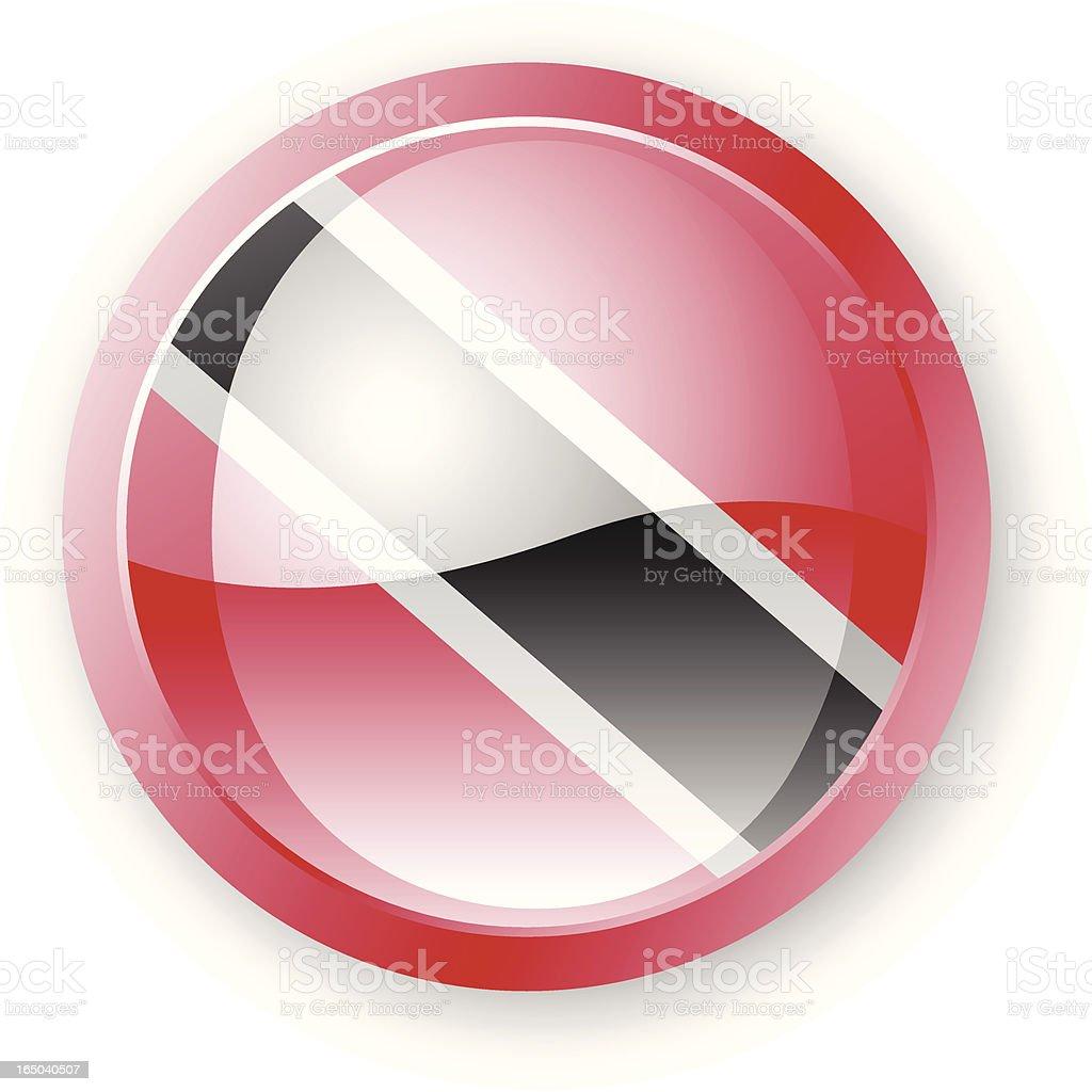 Trinidad and Tobago Flag Icon royalty-free stock vector art