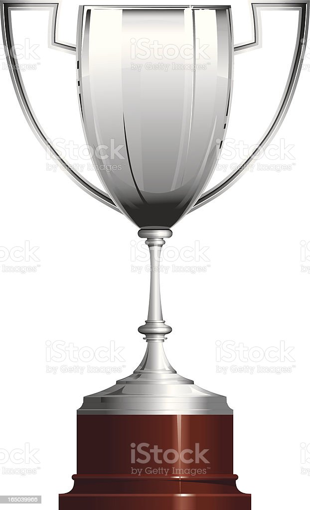 Trophy - Cup prize royalty-free stock vector art