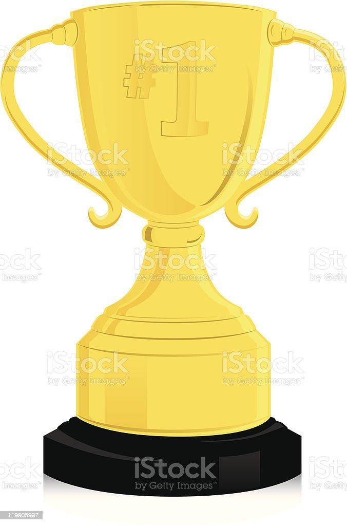 Trophy royalty-free stock vector art