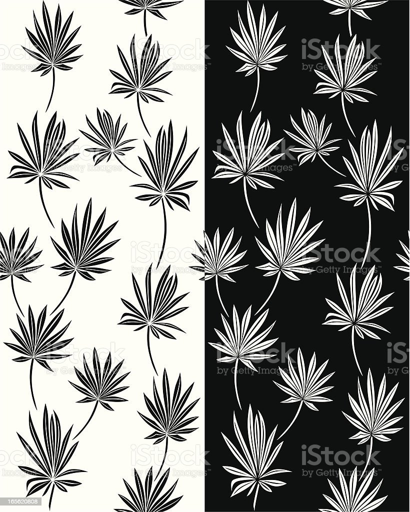Tropic Wallpaper vector art illustration