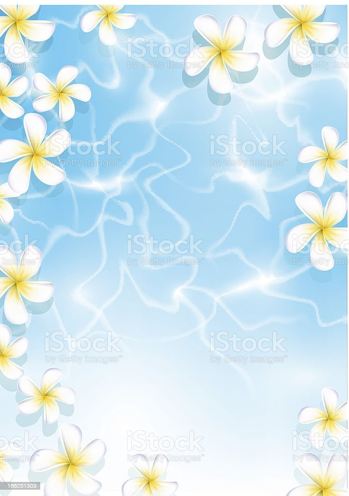 Tropical background for design royalty-free stock vector art