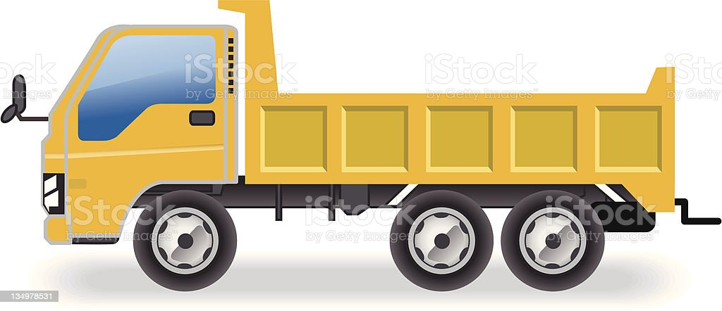 truck icon royalty-free stock vector art