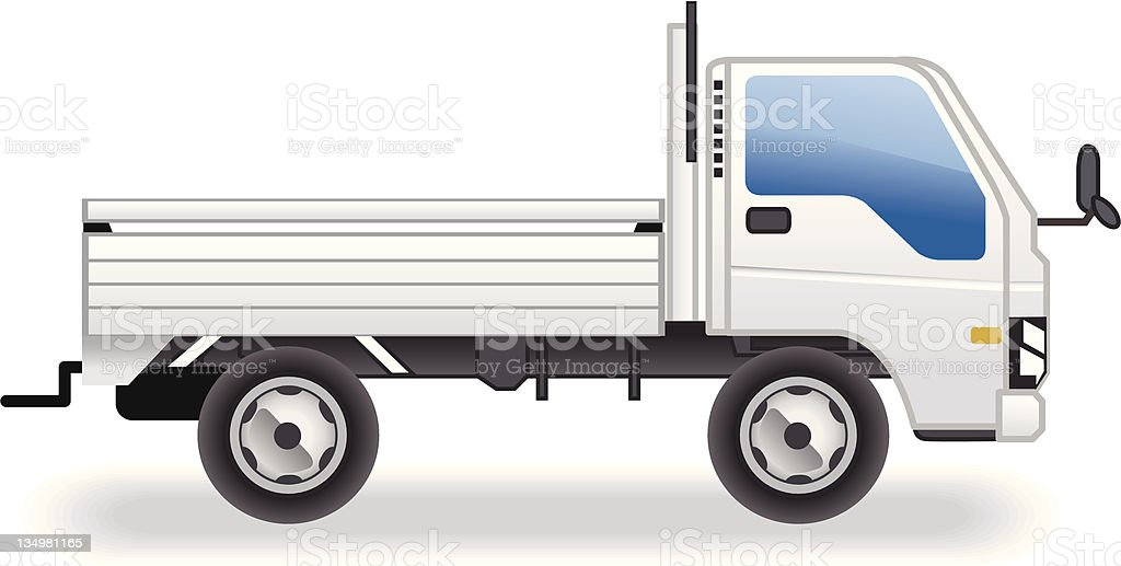 truck icon royalty-free stock vector art