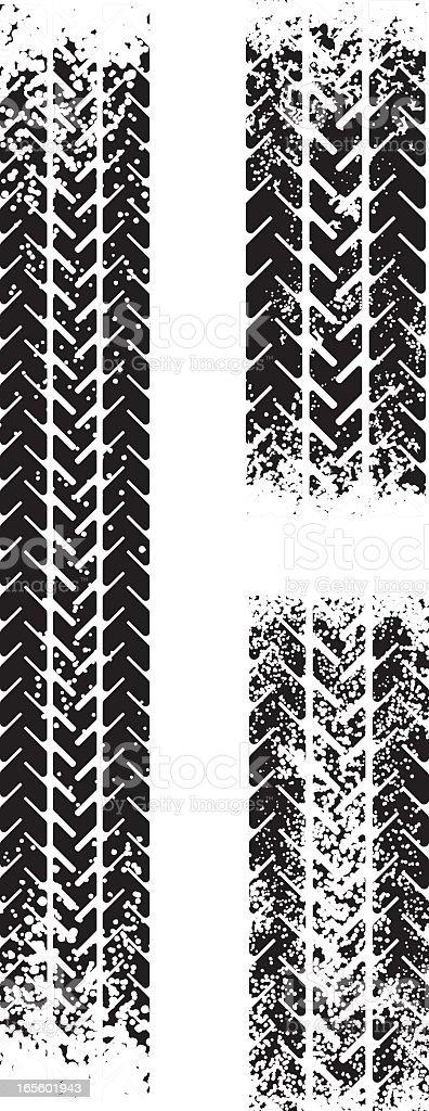truck tyre vector art illustration