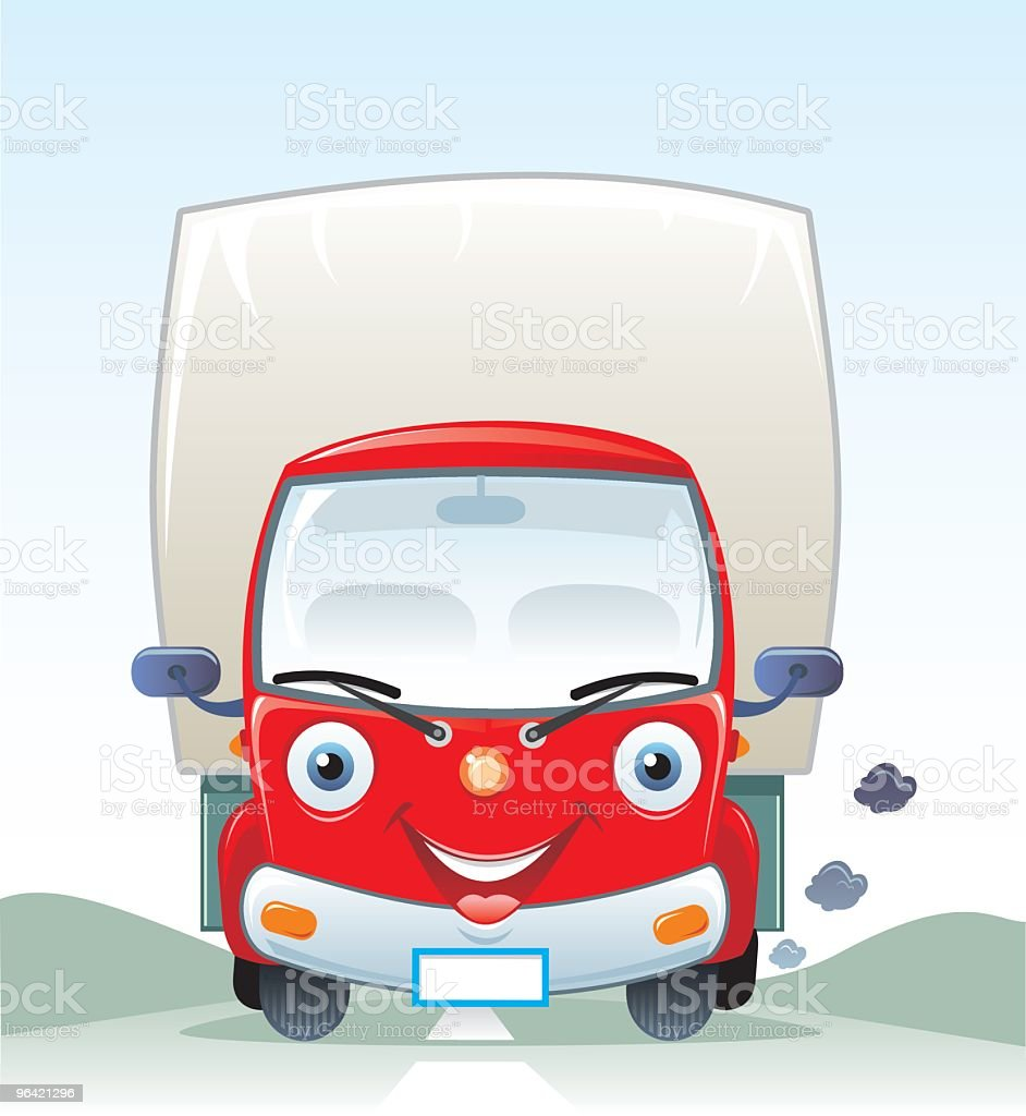 Truck royalty-free stock vector art