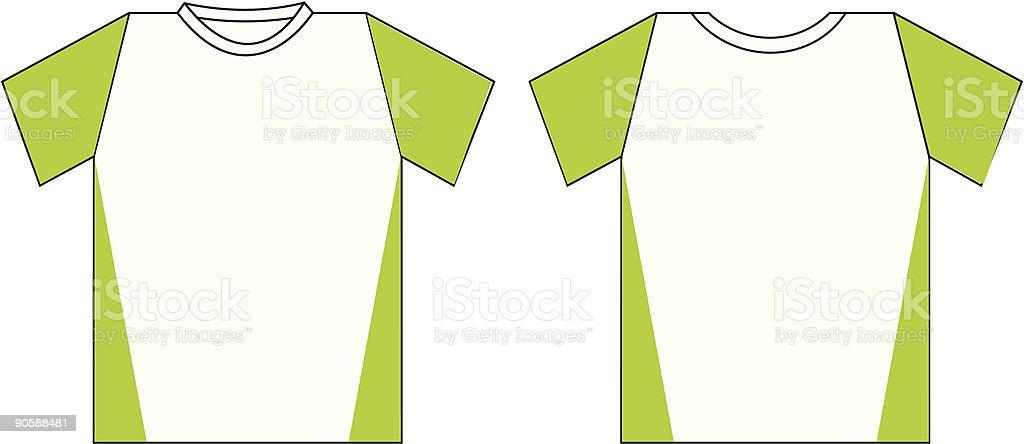 t-shirt2 (vector) royalty-free stock vector art