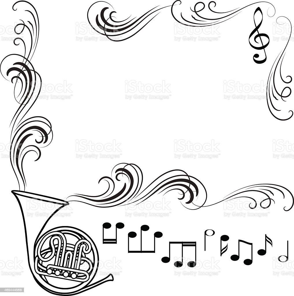 Tube frame vector art illustration