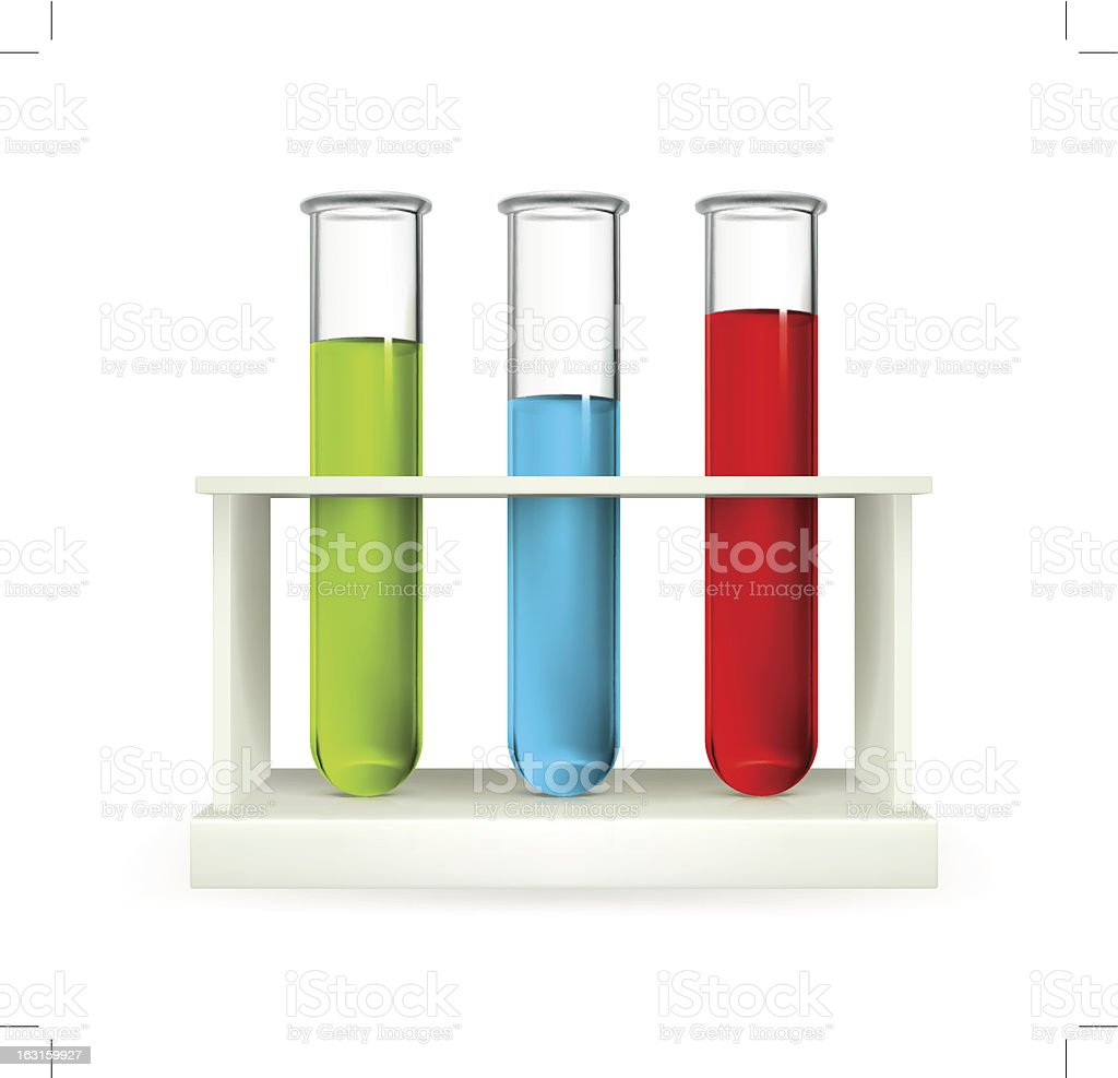 Tubes icon vector art illustration