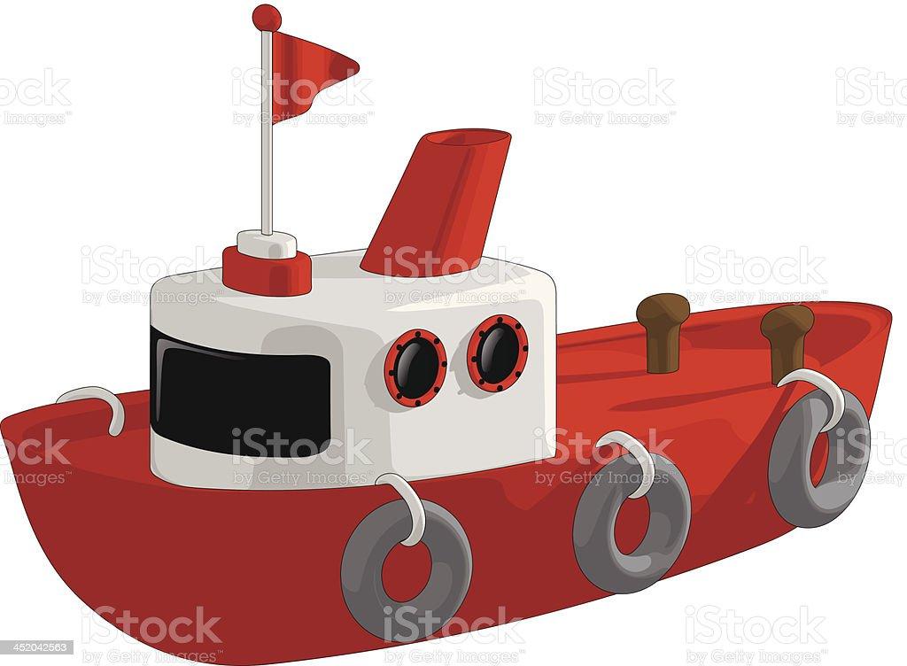 Tug Boat royalty-free stock vector art