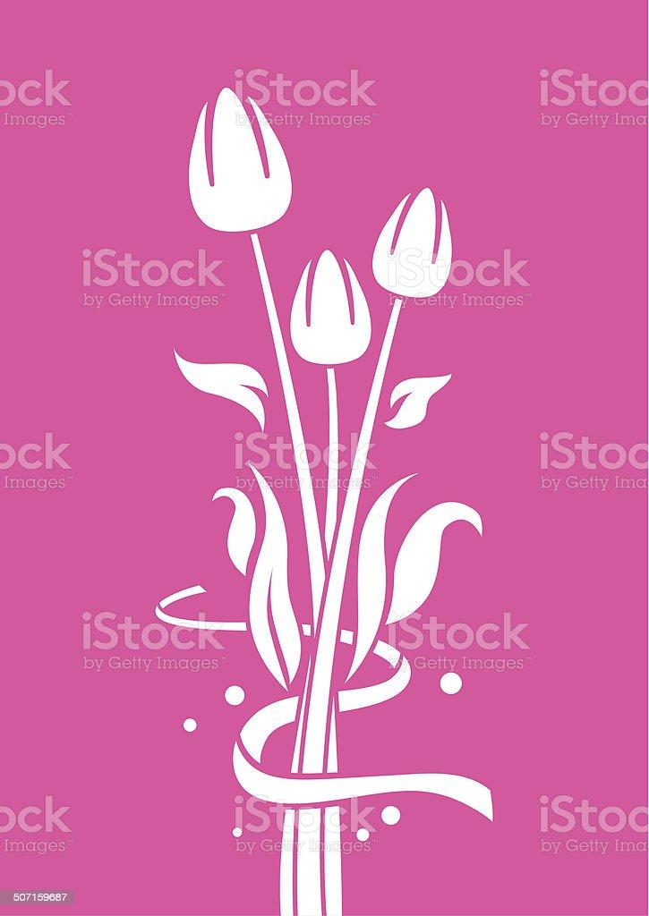 Tulip Dream royalty-free stock vector art