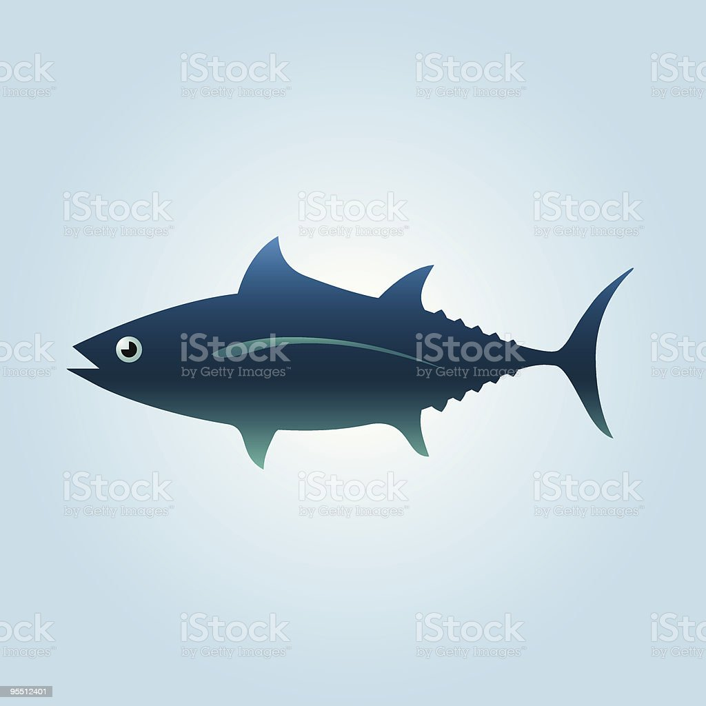 Tuna Fish royalty-free stock vector art