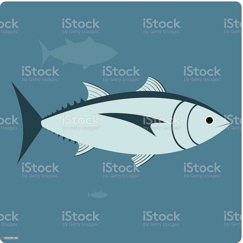 Tuna royalty-free stock vector art
