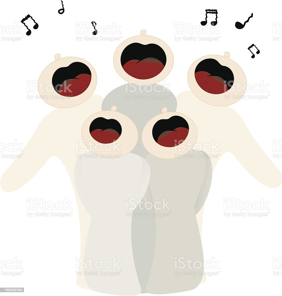 Tuneless Singers - incl. jpeg royalty-free stock vector art