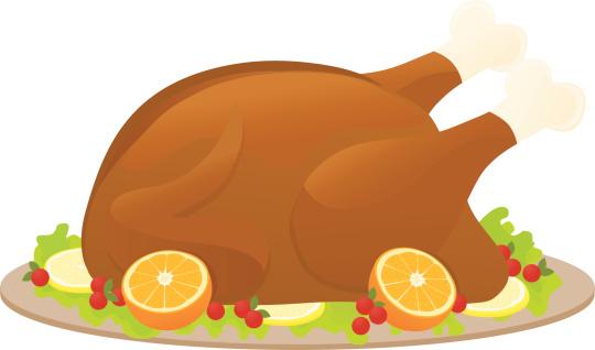 Christmas Dinner Clip Art, Vector Images & Illustrations ...