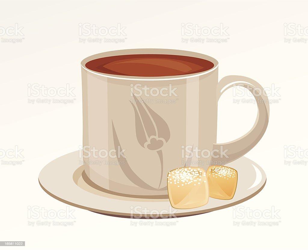 Turkish Coffee vector art illustration