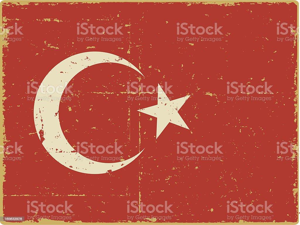 Turkish Flag royalty-free stock vector art