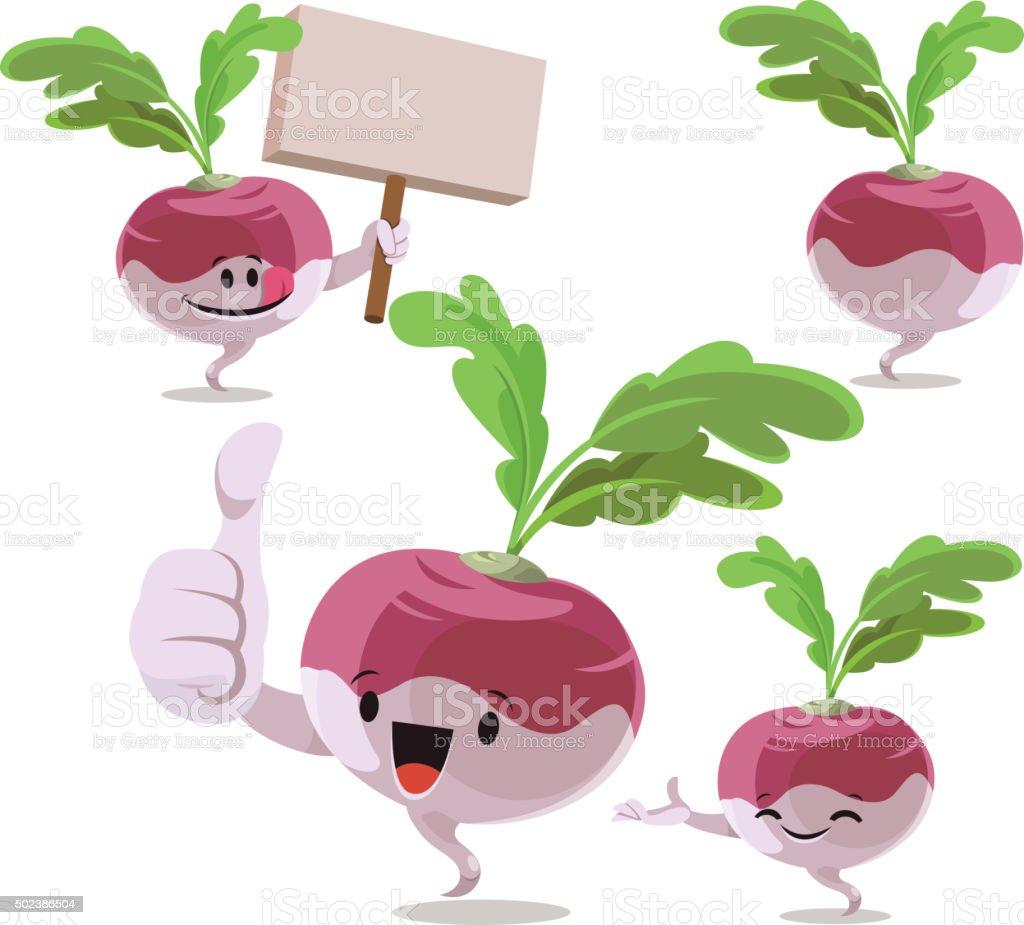 Turnip Clipart