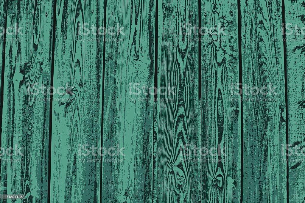 Turquoise planks vector art illustration