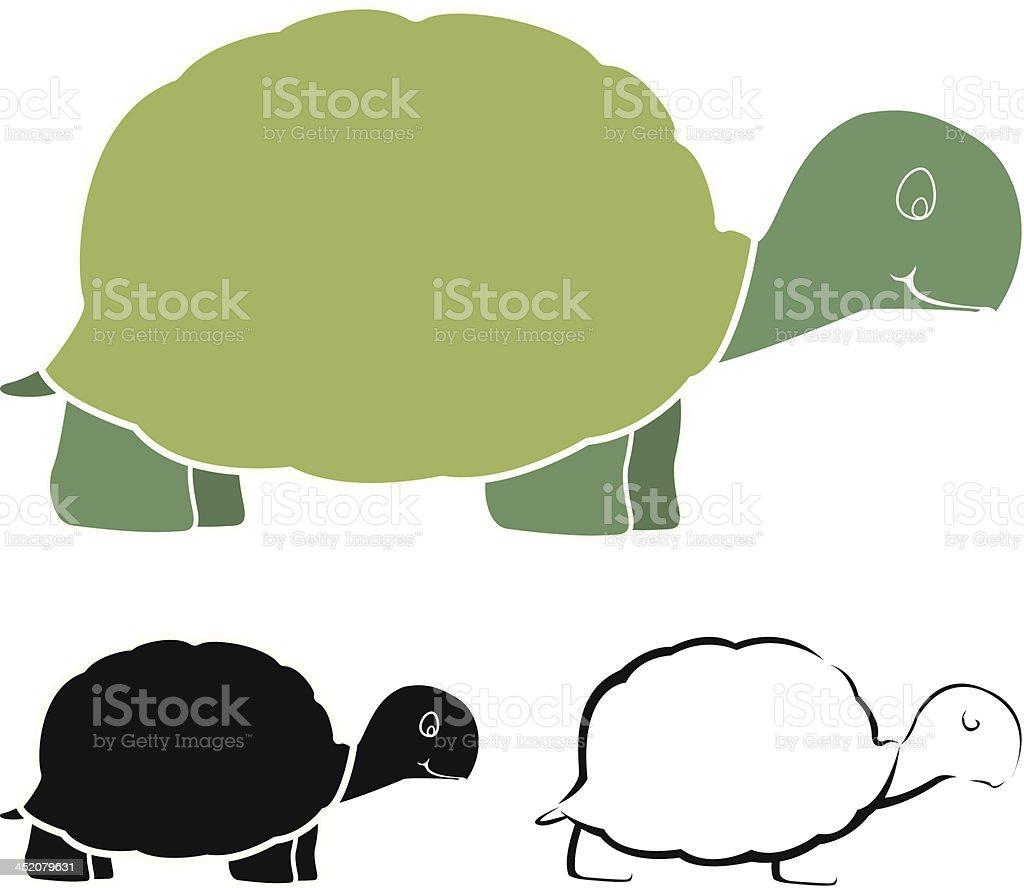 Turtle design royalty-free stock vector art