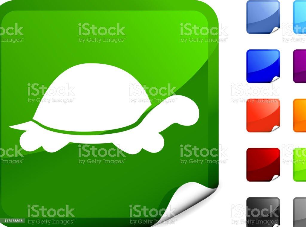 turtle internet royalty free vector art vector art illustration