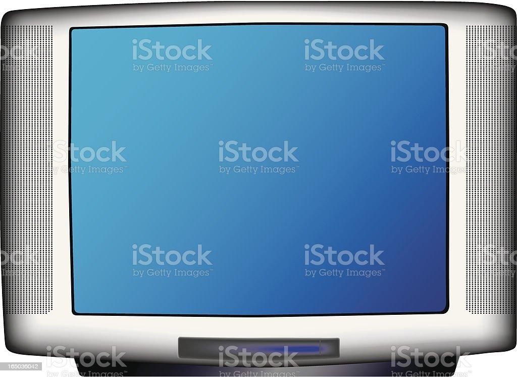 TV-Set (Vector) royalty-free stock vector art