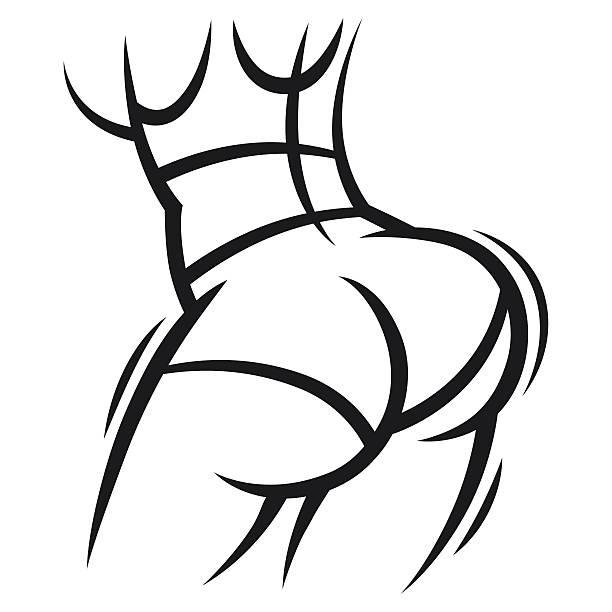 Ass Clip Art 96