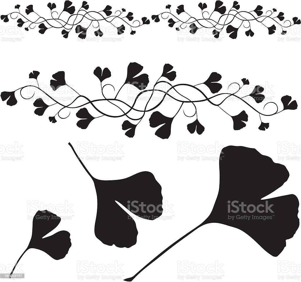twig - vector vector art illustration