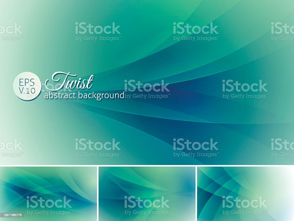 Twist  abstract background vector art illustration