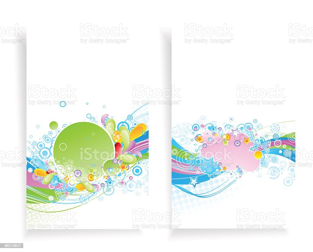 Two banners royalty-free stock vector art