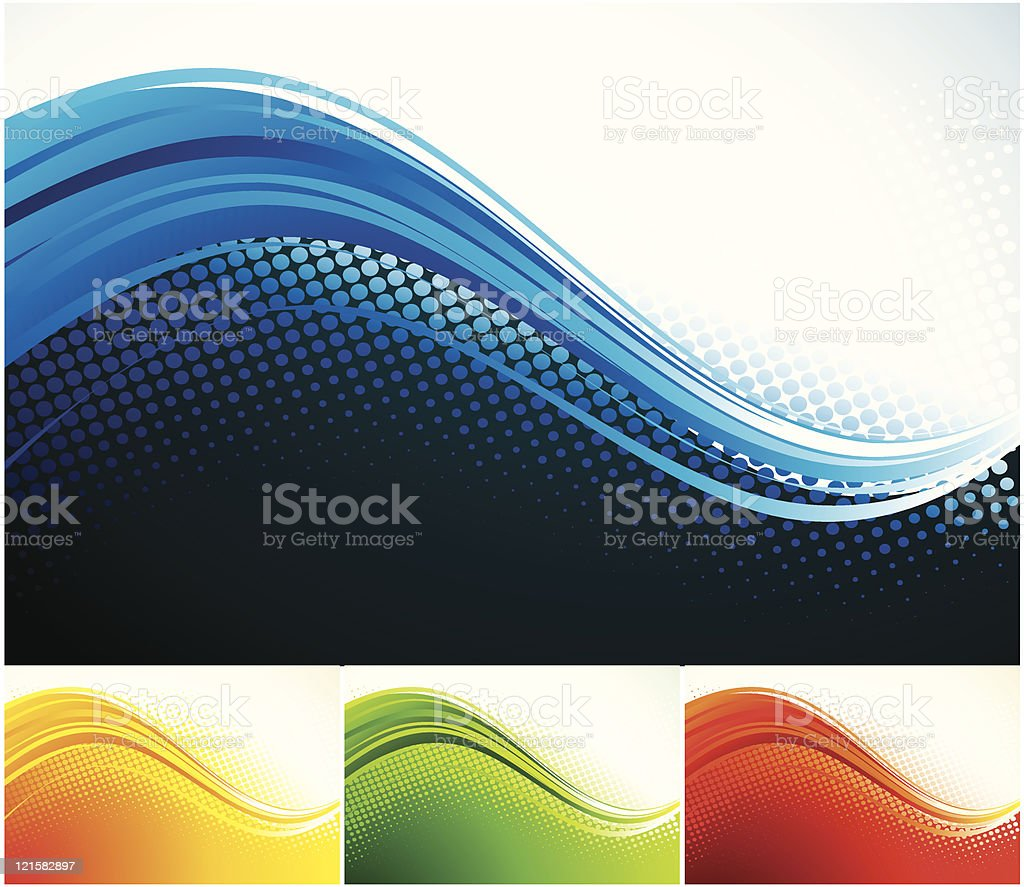Two  credit  abstract background royalty-free stock vector art