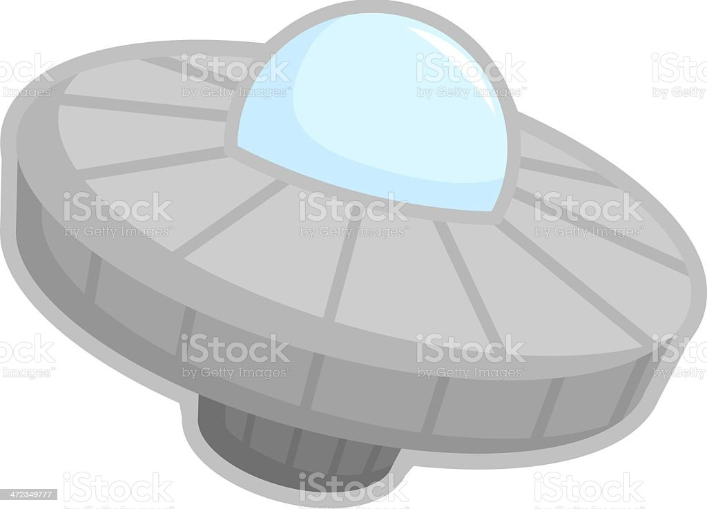 ufo space ship royalty-free stock vector art