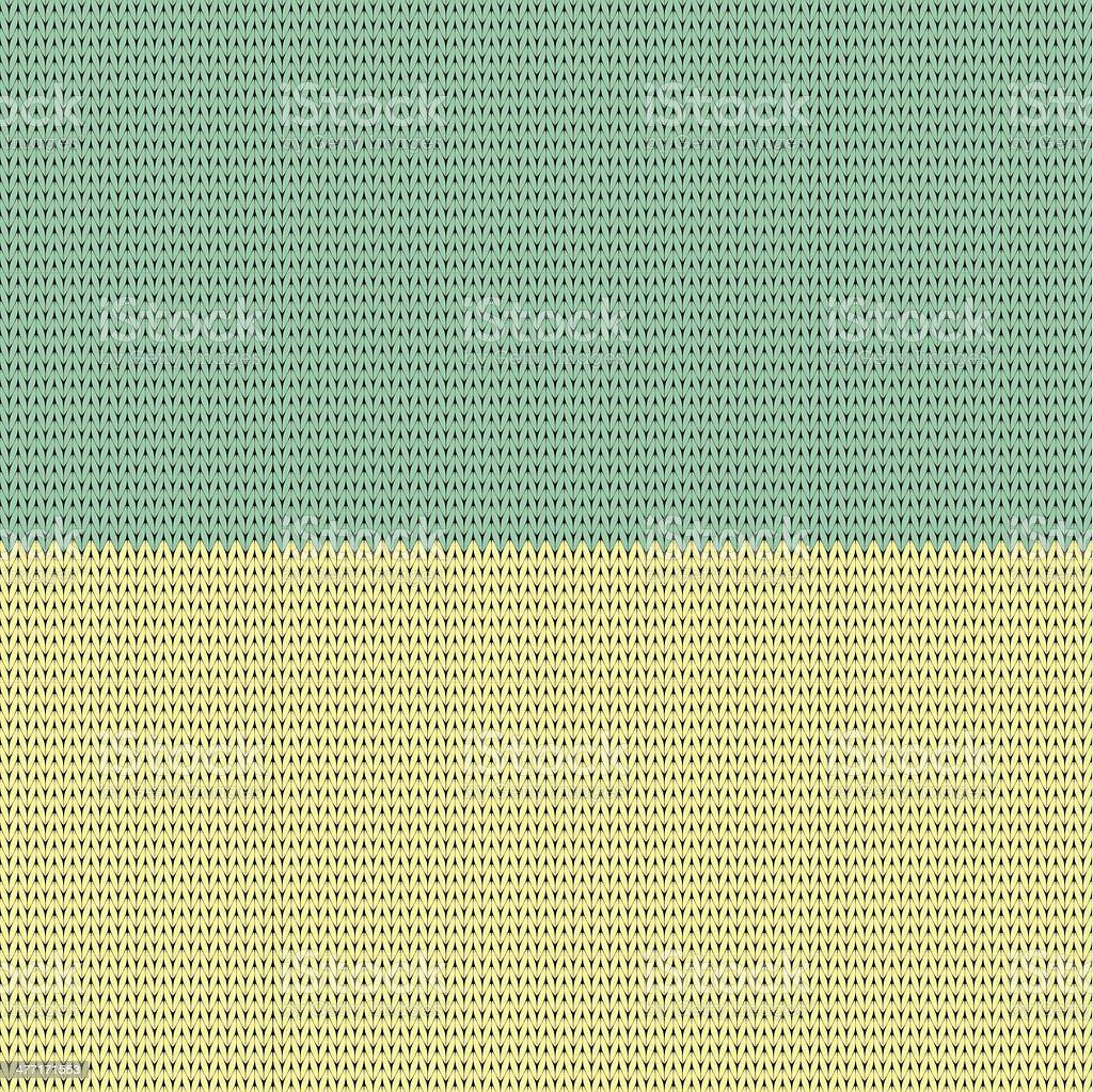 Ukrainian national colors. Flag. knitting pattern royalty-free stock vector art