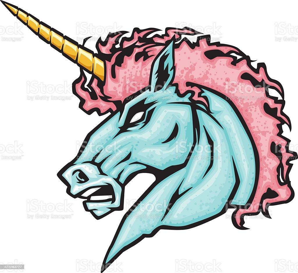 ultimate unicorn vector art illustration